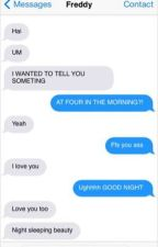 Five Nights At Freddy's Texts by HumanBonnieBunny