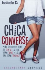 Chica Converse by IsabelleAnge