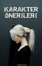 KARAKTER ÖNERİLERİ by _aysenozcelik