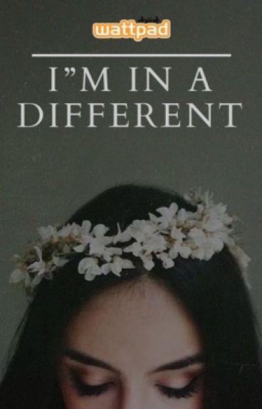 Είμαι το διαφορετικό.