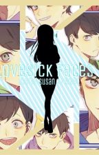 Lovesick Faces (Sextuplet x Reader) by lettucecheese