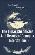 The Lunar Chronicles and Heroes of Olympus Interactions by ForkSquad