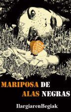 Mariposa de alas negras by IlargiarenBegiak