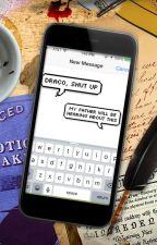 Harry Potter Texts by UnicornErica