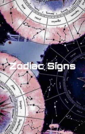 Zodiac Signs by cakecookiepop
