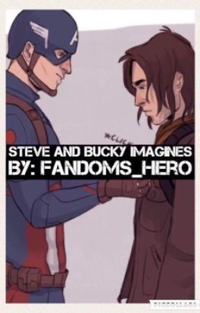 Steve and Bucky Imagines - ^*Steve Rogers and Bucky Barnes x Reader