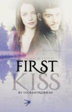 First Kiss • z.m. by YoureMyRedhead