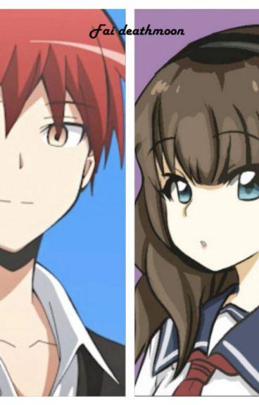 Rivales Amigos y amor de infancia ( Karma Akabane x Lily oc )