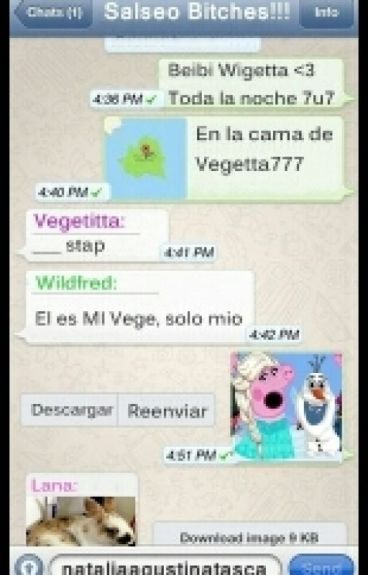 Salseo Bitchs! »WhatsApp Youtubers«