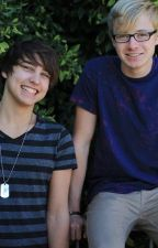 Sam and Colby by imsodunwithyou1a