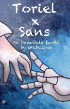 Toriel x Sans by xFabCakes