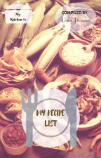 My Recipe List (Book #1) by striving_muslimah