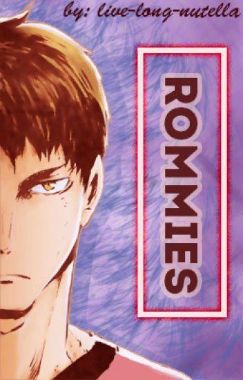 Roomies (Ushijima Wakatoshi x FEM!Reader)