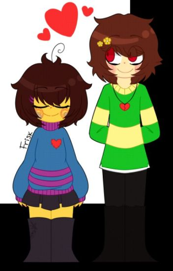 UnderTale Red Flowers (Chara x Frisk)