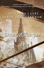 Amargor da Língua - Cassandra Clare by unicornshoney-g