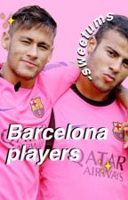 Barcelona players by louisloveharry_