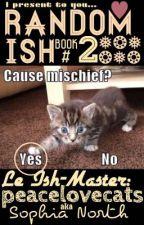 Random Ish Book #2 by peacelovecats