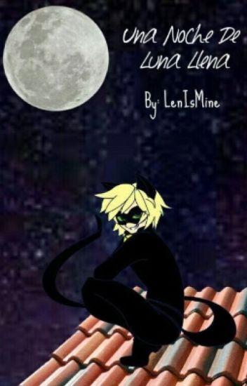 """""""Una noche de Luna llena."""" (Adrien/Chat Noir y Tú)"""