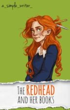 The redhead and her books by a_simple_writer_