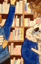 The Smell of Old Books (Sans/Reader) by IcyLeaves