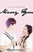 I Think I Wanna Marry You (SungJoy Fic) by unplannedimpulse