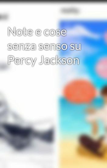 Note e cose senza senso su Percy Jackson