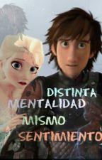 Distinta Mentalidad, Mismo Sentimiento (hiccelsa) by IreneHaddock