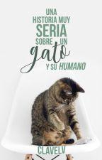 Una historia muy seria sobre un Gato y su Humano by ClavelV