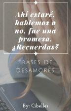 Frases de Desamores by Cibelles
