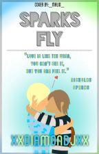 Sparks Fly | A Gaurance AU by xXDiamondJXx