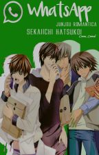 WhatsApp JunJou y Sekaiichi by Come_Cereal