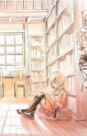 Una Cotta Scolastica (Armin x Annie) by DoctorMark07