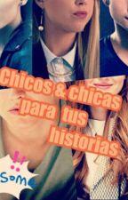 Chicos y Chicas para tus historias by Girldevoursbooks