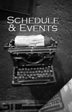 Schedule And Events by TheWritePathGuild