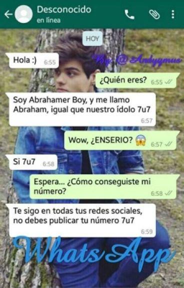 WhatsApp. (Abraham Mateo y Tú)