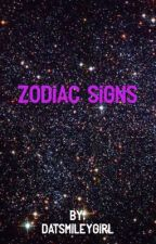 Zodiac Signs by datsmileygirl