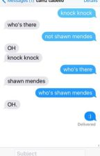 Texts With Camren by emiliems13
