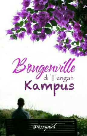 Bougenville Di Tengah Kampus by Ozzynich