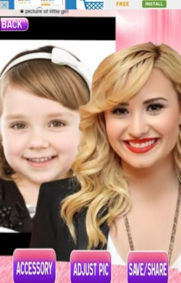 Adopted by Demi Lovato