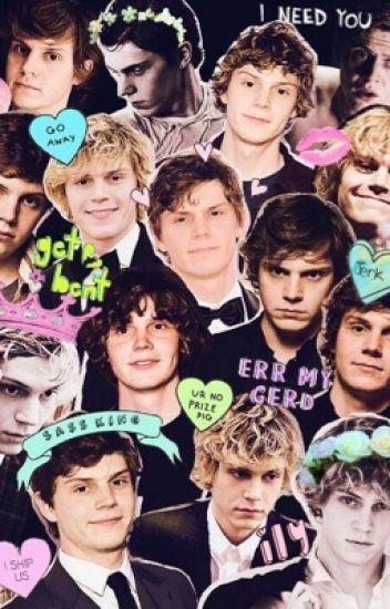 Evan peters imagines and prefrences