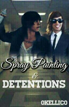 Spray Painting & Detentions || Kellic ✔️ by 0Kellic0