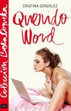 Querido Word/ Cristina González 2014 Suma de letras, Amazon, librerías. by aleianwow