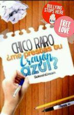 Chico Raro, ¿Me Prestas Tu Crayón Azul?     [EDITADO] by _Sisterch_hgs_
