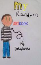 My random Art Book by Jakeybooks