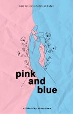 Pink and Blue by Starzonee