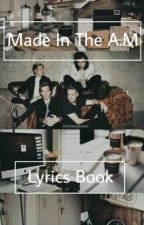 Made In The A.M - LyricsBook by LAURA_BINDI_05