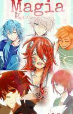 Magia (Nathaniel, Chat Noir, Gett,Dante, Dajan X Tu) by GeralTsumiki