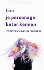 Leer je personage beter kennen by EchteMensen