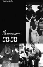 Te equivocaste. (Gemeliers) by imnotana_