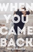 When you came back by HarryIsMainBae